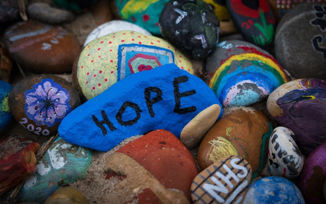 stone with hope